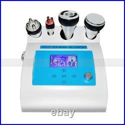4in1 Ultrasonic Cavitation Multipolar RF Vacuum Lipo Body Slimming Salon Machine