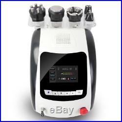 5IN1 40KHz Ultrasonic Cavitation RF Radio Frequency Body Slimming Beauty Machine