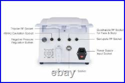 5IN1 Cavitation Radio Frequency RF Vacuum Slimming Cellulite Ultrasonic Machine