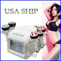 5IN1 Cavitation Ultrasonic RF Radio Frequency Multipolar Vacuum Slim Machine USA