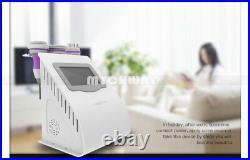 5IN1 RF Face Body Contour Ultrasonic Cavitation 40K Slimming Fat Loss Machine