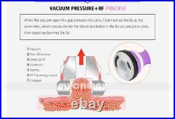 5IN1 Ultrasonic 40K Cavitation Machine Vacuum Radio Frequency Slimming Machine