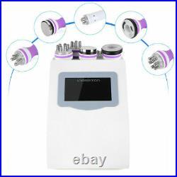 5IN1 Ultrasonic Cavitation Machine RF Vacuum Body Contour Slimming Machine Salon