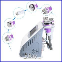 5IN1 Vacuum Ultrasonic Cavitation Radio Frequency Body Beauty Slimming Machine