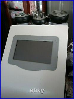 5In1 Cavitation Ultrasonic Vacuum Radio Frequency RF 40K Slimming Machine