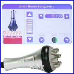 5In1 Ultrasonic Cavitation 40K Multipolar RF Vacuum Body Slim Beauty Machine A+