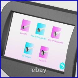 5In1 Ultrasonic Cavitation 40K Multipolar RF Vacuum Body Slimming Care Machine