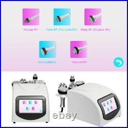 5In1 Ultrasonic Cavitation 40K Multipolar RF Vacuum Body Slimming Care Machine A