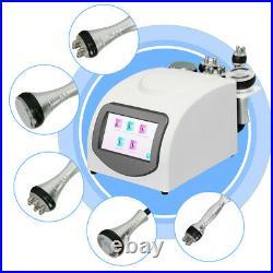 5In1 Ultrasonic Cavitation 40K Multipolar RF Vacuum Body Slimming Machine New CE