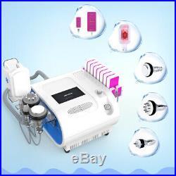 5In1 Ultrasonic Cavitation RF Vacuum Frozen Fat Freezing Losing Weight Machine