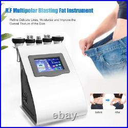 5-1Ultrasonic Cavitation RF Vacuum Radio Frequency Body Slimming Beauty Machine
