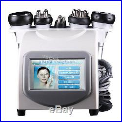 5-1Ultrasonic Cavitation Radio Frequency Body Slimming Vacuum Fat Burner Machine