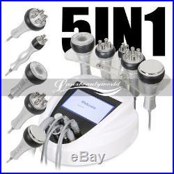 5-1 Cavitation Ultrasonic Vacuum Multipolar RF Body Slimming Weight Loss Machine