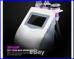 5-1 Three PoleRF Vacuum Cavitation Cellulite Removal Ultrasonic Slim Machine SPA