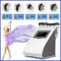 5-1 Ultrasonic 40K Cavitation RF Vacuum LED Photon Microcurrent Slimming Machine