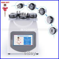5-1 Ultrasonic Cavitation2.0 RF Radio Frequency Vacuum Body Slim Machine Beauty