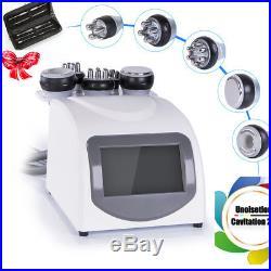 5-1 Ultrasonic Cavitation RF Radio Frequency Slim Machine Vacuum Body Care Salon