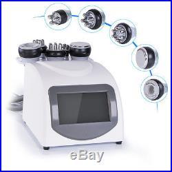 5-1 Ultrasonic Cavitation RF Radio Frequency Slimming Machine Vacuum Body Caring