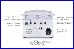 5-1 Ultrasonic Cavitation RF Radio Frequency Slimming Machine Vacuum Massage Spa