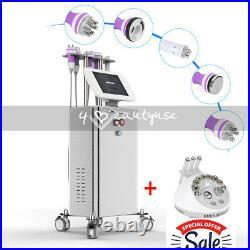 5-1 Ultrasonic Cavitation RF Slimming Machine Vacuum Body Shaping Powerful Stand