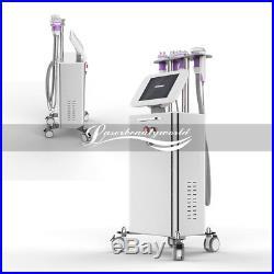 5-1 Ultrasonic Cavitation Radio Frequency Body Slimming Vacuum RF Stand Machine