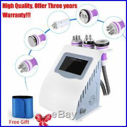 5-1 Ultrasonic Cavitation Radio Frequency RF Body Slimming Vacuum Beauty Machine