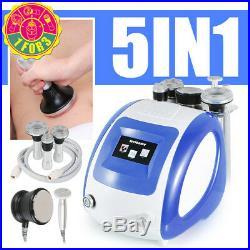 5-1 Ultrasonic Cavitation Radio Frequency RF Vacuum Cellulite Slimming Machine