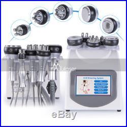 5-1 Ultrasonic Cavitation Radio Frequency RF Vacuum Liposuction Machine Slimming
