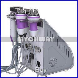 5-1 Ultrasonic Cavitation Radio Frequency RF Vacuum Liposuction Slimming Machine