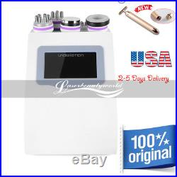 5 -1 Ultrasonic Cavitation Radio Frequency Slim Machine Vacuum Body Fat Burning