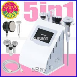 5-1 Ultrasonic Cavitation Radio Frequency Slim Machine Vacuum Body fat burner US
