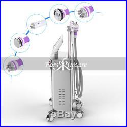 5-1 Ultrasonic Cavitation Radio Frequency Slimming Vacuum RF Slim Stand Machine