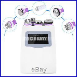 5-1 Vacuum Ultrasonic Cavitation Radio Frequency RF Body Slimming Beauty Machine
