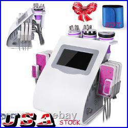 5/6/8/9 in1 Ultrasonic 40K Cavitation Vacuum Unoisetion RF Laser Beauty Machine