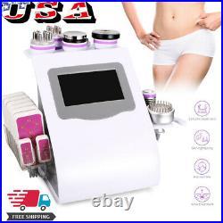 5/6/8/9 in1 Unoisetion Cavitation Vacuum Ultrasonic RF LED Laser Beauty Machine