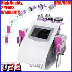5/6/8/9in 1 Ultrasonic Cavitation Machine Vacuum RF Cellulite&Fat Remover Machie