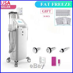 5 IN 1 Fat Freeze Cool Body Slimming Ultrasonic Cavitation RF Cellulite Machine