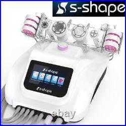 5 IN 1 S-SHAPE 30k Cavitation RF Ultrasonic Vacuum Body Slimming Machine Spa