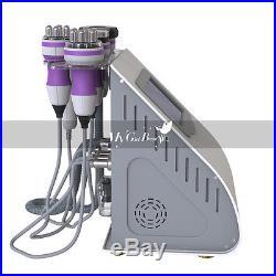5 IN 1 Tripolar RF Face Body Contour Ultrasonic Cavitation Slimming Machine Fat