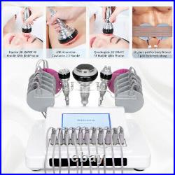5 IN 1 Ultrasonic Cavitation Radio Frequency RF EMS Body Slimming Machine USA