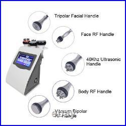 5 IN 1 Vacuum Cavitation Ultrasonic 40KHZ RF Anti-Cellulite Skin Beauty Machine