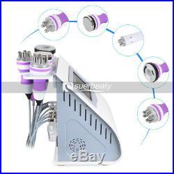 5 In 1 RF Cavitation Ultrasonic Vacuum Body Slimming Skin Lifting Beauty Machine