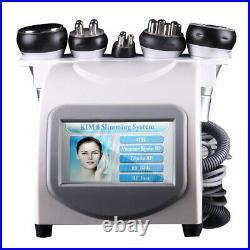 5 in1 Ultrasonic Cavitation Multipolar RF Full Body Slimming Weight Loss Machine