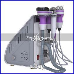5 in1 Ultrasonic Cavitation Radio Frequency Slim Machine Vacuum RF Free Needles