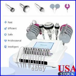 5 in1 Unoisetion 40K Cavitation Ultrasonic RF EMS Body Massage Beauty Machine