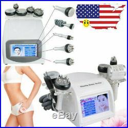 5 in 1/8 in 1 Ultrasonic Cavitation Radio Frequency Vacuum Body Slim Machine USA