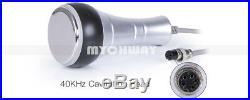 5 in 1 Ultrasonic Cavitation Radio Frequency Slim Machine Vacuum Body Contouring