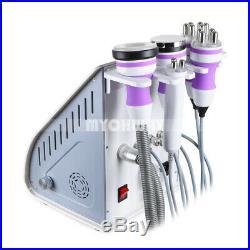 5 in 1 Ultrasonic Cavitation Radio Frequency Slim Machine Vacuum Body Fat Loss