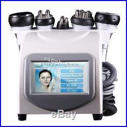 5 in 1 Ultrasonic Cavitation Radio Frequency Slimming Vacuum Machine Spa Comfort