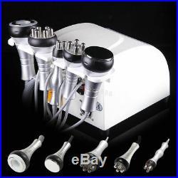 5 in 1 Ultrasonic Cavitation Radio fat burner Frequency Slim Beauty Machine New